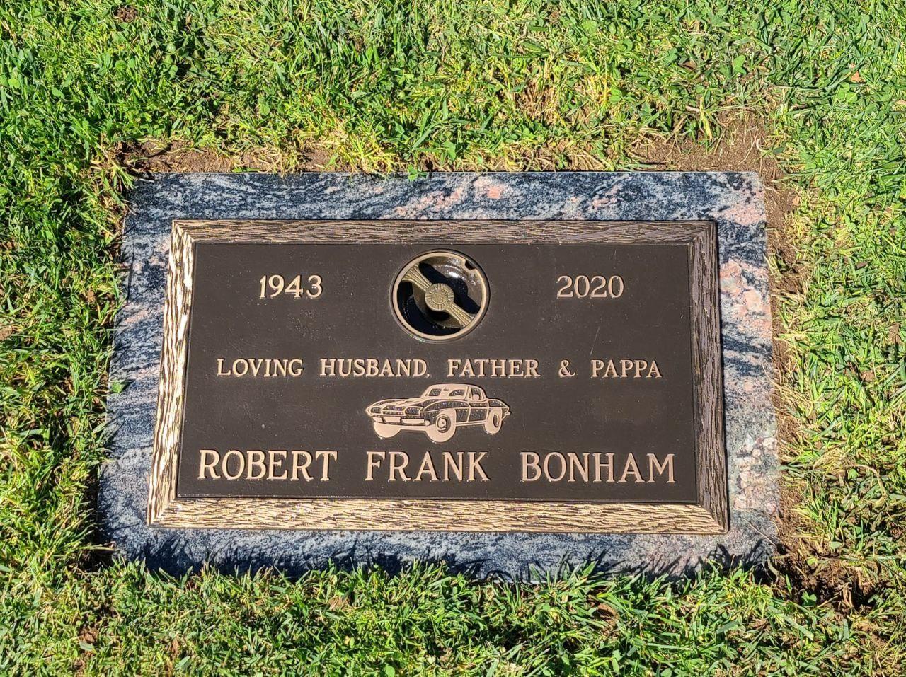 Bronze gravesite marker